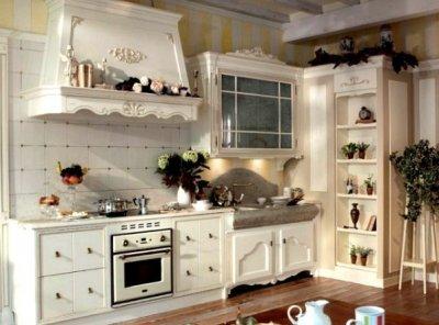 Кухня в стиле прованс. Описание и особенности.