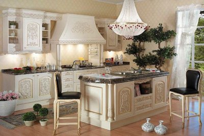 Классические кухни. Классика стиля.