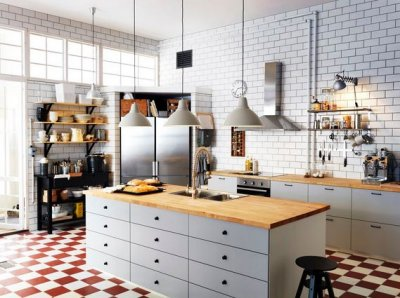 Кухонный остров на фото