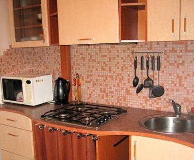 Газовая труба на кухне.