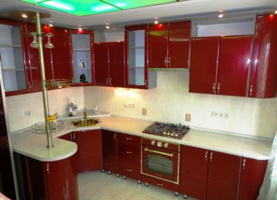 Кухни в стиле модерн. Особенности стиля.